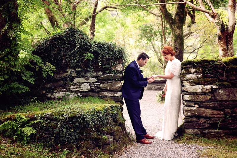Gougane Beara-woodland-Wedding-emerandthomas-Cork-West Cork-1