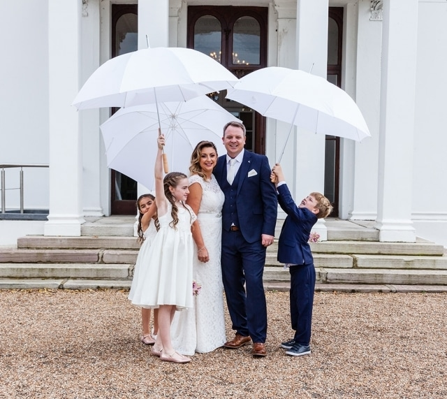 Charming Blended Family Wedding