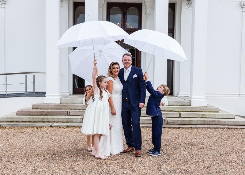 Charming Blended Family Wedding